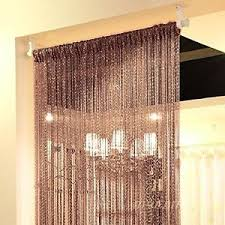 string door curtain beads room divider crystal tassel fringe