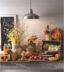 Fall Table Decorations by Unique Fall Buffet Table Decorations 46 About Remodel With Fall