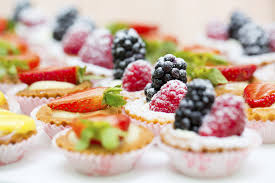 berry canapes dessert canapes articles easy weddings
