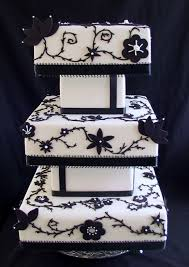 the wedding cake decorating business unique white and black