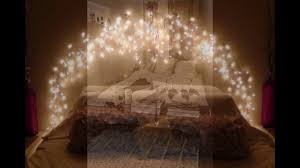 How To Hang String Lights In Bedroom Cool String Lights Ideas For Your Bedroom