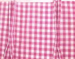 Fuchsia Pink Curtains Pink Fuchsia Gingham Check Pinch Pleat Tier Curtains