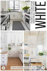 Kitchen Neutral Colors - 24 modern neutral paint colors for your kitchen remodel interior