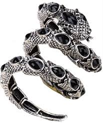 crystal snake bracelet images Yacq jewelry women 39 s crystal stretch snake bracelet jpg