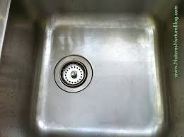 how to keep stainless steel sink shiny non toxic scouring powder cleanser like comet