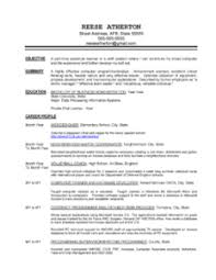 Sample Resume For A Career Change by Free Resume Samples By Professional Resume Writer In Minnesota