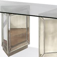 Mirrored Dining Table Antique Silver Mirrored Dining Table Dining Room Furniture