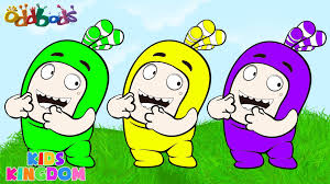 oddbods cartoon color swap learn colors with bubbles episode for