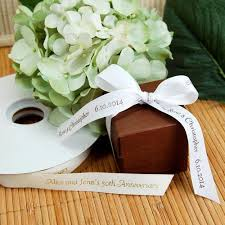 eco friendly wedding favors personalized eco friendly continuous print ribbon roll