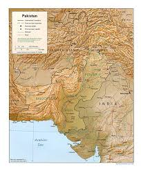 Map Of India And Pakistan by Nationmaster Maps Of Pakistan 22 In Total