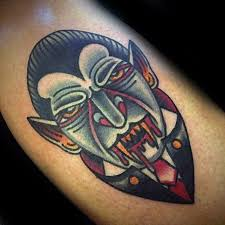 40 dracula tattoo designs for men blood vampire ideas
