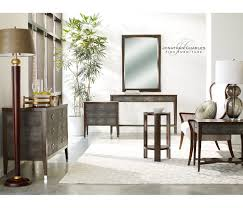 Shagreen Console Table by Faux Macassar Ebony U0026 Anthracite Shagreen Console