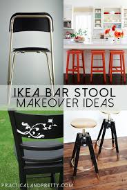 Ikea Bar Stool Folding Bar by Easy Ikea Bar Stool Updates Practical And Pretty