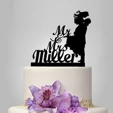 monogram cake toppers for weddings 20 amazing and unique wedding cake toppers rock n roll