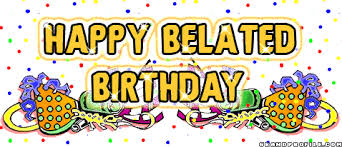 belated birthday wishes clipart 51