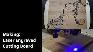 how to engrave a cutting board a laser engraved cutting board