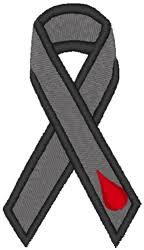 diabetes ribbon ribbon cure diabetes embroidery design