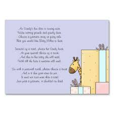 gift card shower wording baby shower gift card wording sensitive and baby shower