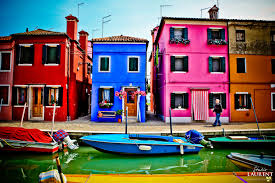 Burano Italy Burano Italy Little Island Near Venice Known For Their Lace And