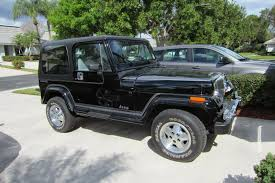 jeep amc 1988 jeep wrangler laredo survivor 11k original miles