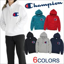 playerz rakuten global market champion big logo hoodie pullover