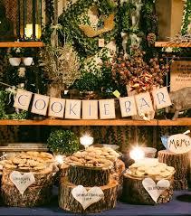wedding ideas for fall fall country wedding cookie bar ideas tulle chantilly wedding