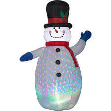 home depot inflatable christmas decorations continuous on technology christmas yard decorations outdoor