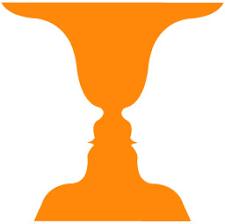 Vase Face Optical Illusion Vase