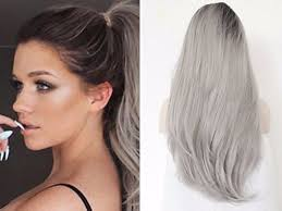 what enhances grey hair round the face natural looking human hair wigs for every face shape everafterguide