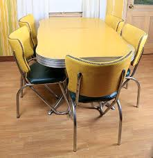 mid century modern kitchen table and chairs ebth