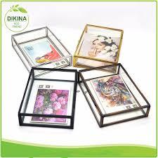 professinal manufacture wedding gifts wall art shadow box glass