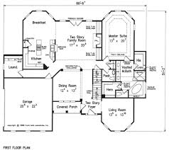 house plans with kitchen in front lake placid house floor plan frank betz associates