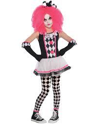 Halloween Clown Costumes by Girls Harlequin Honey Clown Costume Halloween Circus Fancy Dress