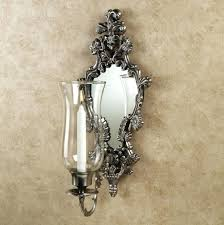 Large Candle Sconces For Wall Venetian Mirror Candle Wall Sconce Mirror Candle Wall Sconce Wall
