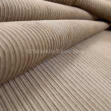 Corduroy Sofa Fabric New Soft Pencil Thin Lined Stripe Corduroy Upholstery Fabric Brown