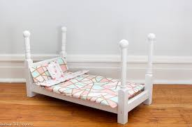how to make american girl doll bed how to make an american girl doll bed for under 20