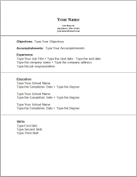 no experience resume exles resume exles no experience template