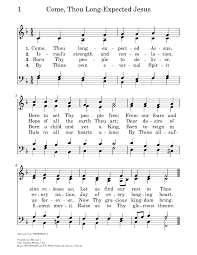 come thou long expected jesus hymnary org
