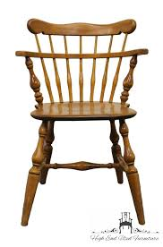 Maple Chairs High End Used Furniture Ethan Allen Heirloom Nutmeg Maple Comb