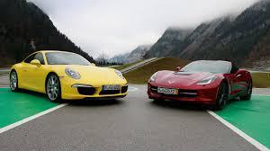 porsche 911 vs corvette porsche 911 vs corvette c7 grip folge 317 rtl2