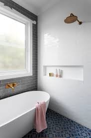 Bathrooms Ideas With Tile by Best 25 Grey White Bathrooms Ideas On Pinterest White Bathroom