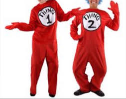 thing one and two onesies for adults on the hunt
