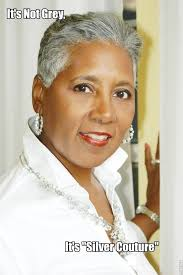 how to wear short natural gray hair for black women the grey hair society ageless grace pinterest gray hair gray