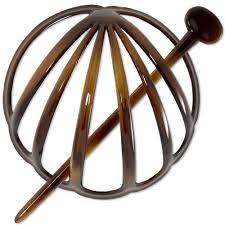 hair bun accessories buy hair bun holder and pin tortoiseshell made in