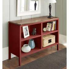 bookcases mainstays 3 shelf wood bookcase multiple colors