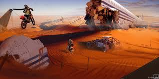 artwork fantasy art concept art desert dune apocalyptic