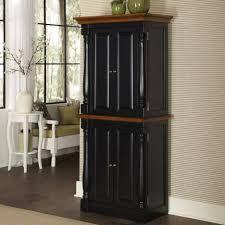 kitchen cabinet tall kitchen storage cabinet with black wooden