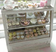 Cuisine Shabby Chic Miniature Stunning Shabby Chic Bakery Counter 195 00 Via Etsy