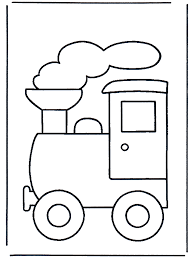 simple train coloring pages getcoloringpages