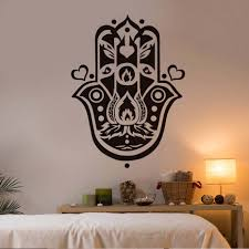 compare prices on home decor hearts online shopping buy low price dctop hand of fatima wall sticker art home decor hearts removable vinyl arabic religious believe wall